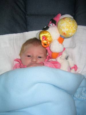 Emma et sa première Diddl